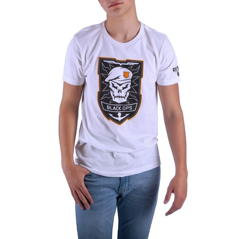 Call of Duty Black Ops 4 White T-Shirt