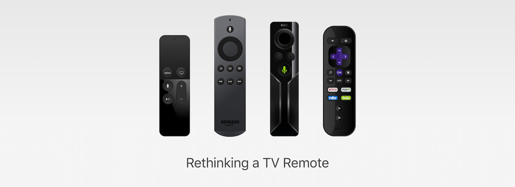 Rethinking a TV Remote for Senior Citizens ~ Skcript Research