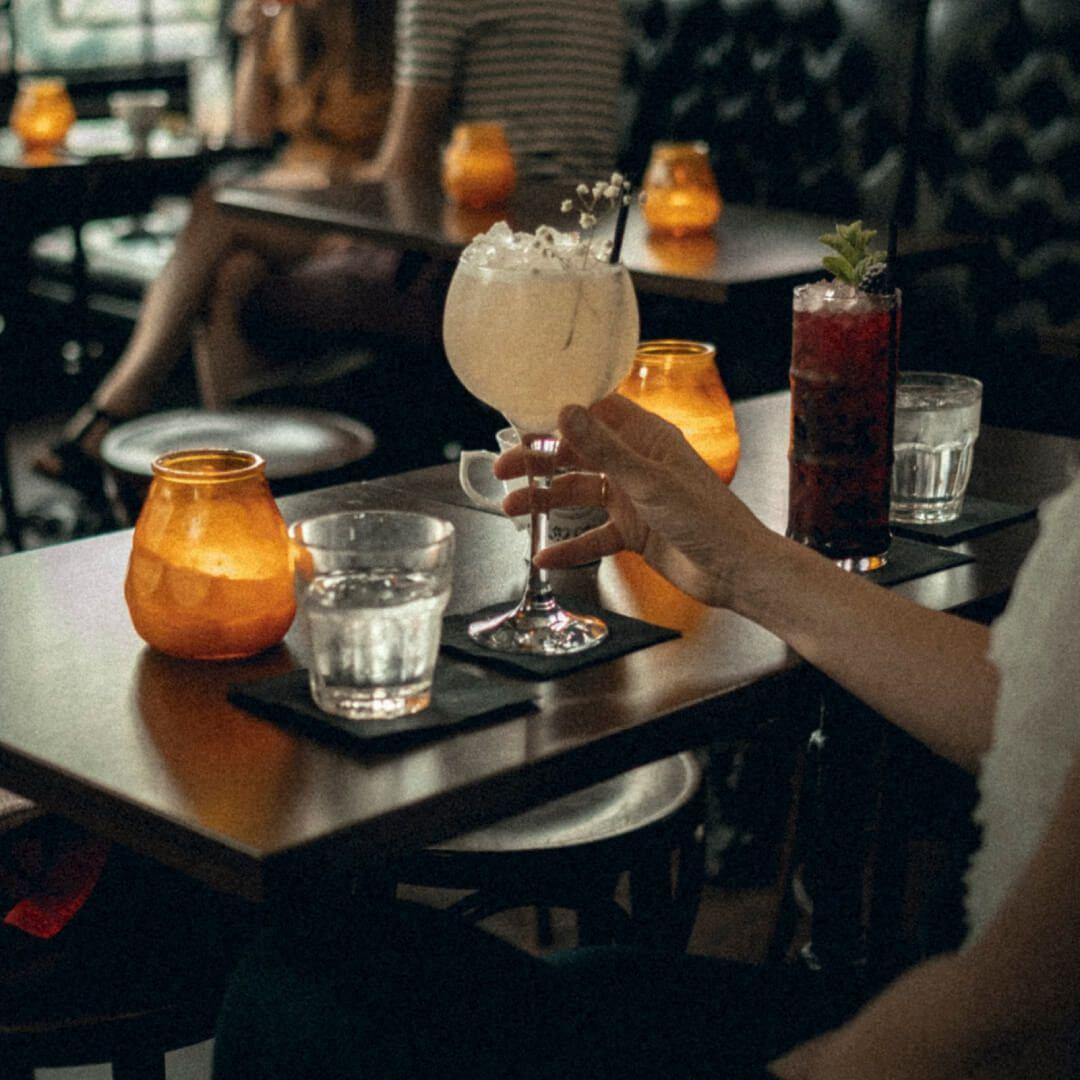 The Maven Call Lane Cocktails