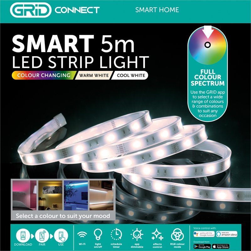 Arlec Smart 5m LED Strip Light