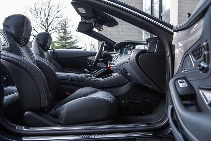 Mercedes-Benz S-Klasse Cabrio 500 , 456 PK, AMG/In/Exterieur, Swarovski, Head/Up, Airscarf, 29DKM, NIEUW!! afbeelding 6
