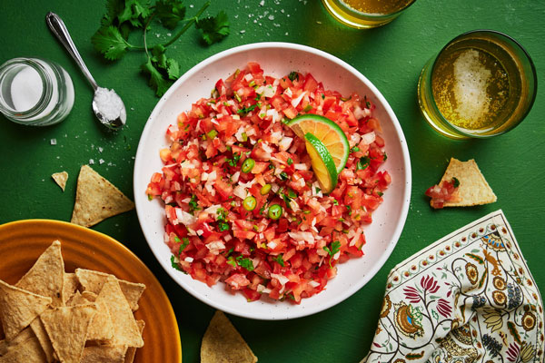 Simple and Classic Pico De Gallo