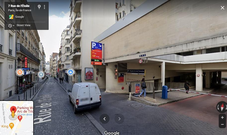 Parking Paris Wagram