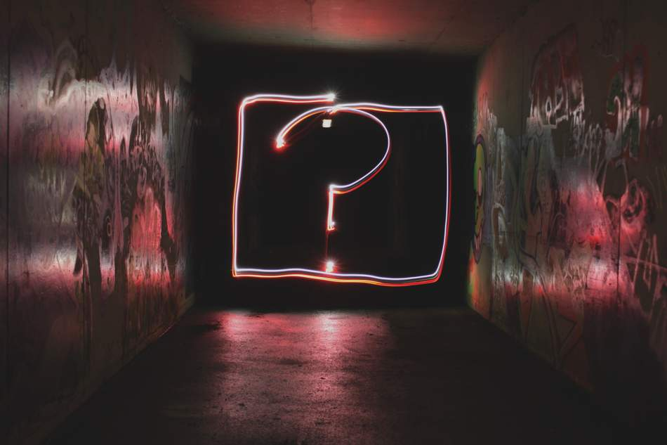 An image of a question mark, what are your top ten questions for your web developer.