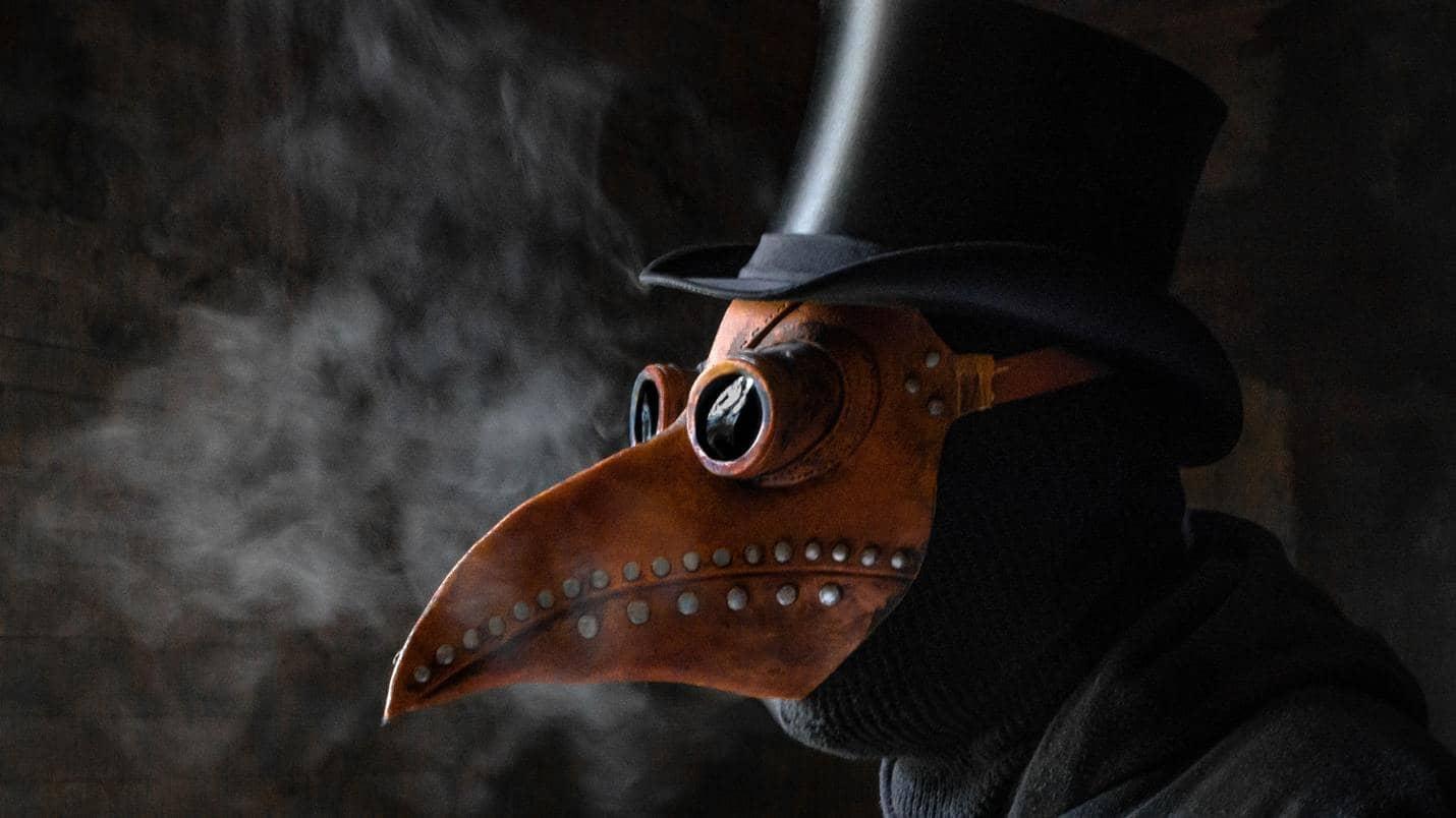 Moja črna maska