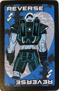 Batman (2005) Blue Uno Reverse Card