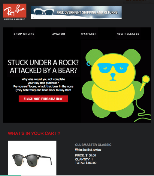 Ray ban email