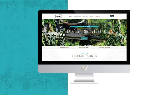 Website displayed on a desktop computer screen