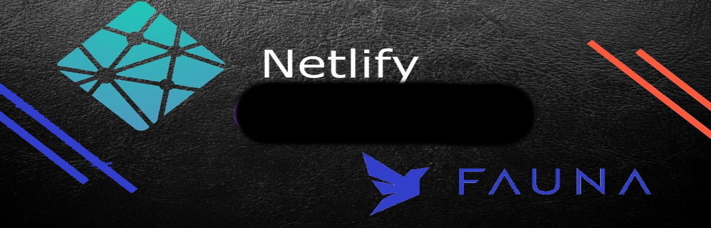react CRUD Netlify Fauna