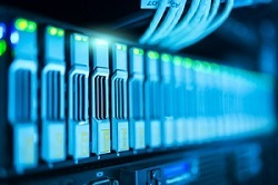 Disk array in a Data Center