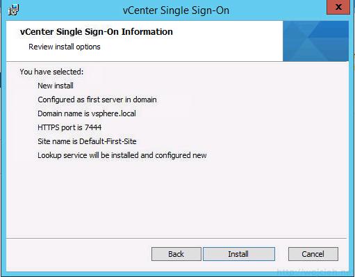 vCenter 5.5 on Windows Server 2012 R2 with SQL Server 2014 – Part 3 - 11