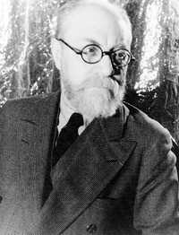 A photograph of Henri Matisse in 1933 May 20 by Carl Van Vechten