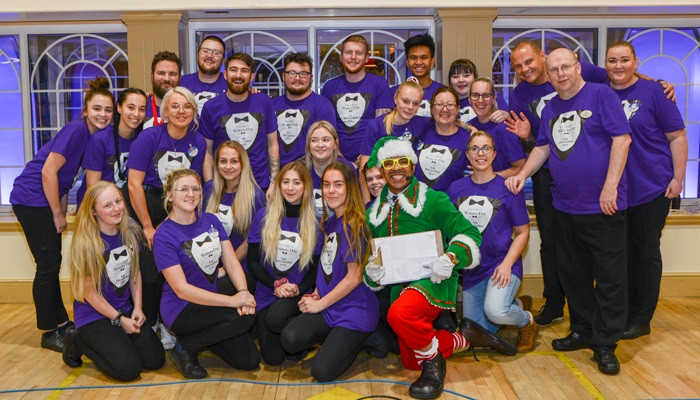 Potters Waiters Day 2019 celebrates team and turns festive!