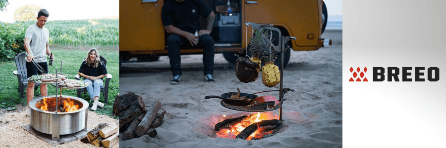 Fire Pit Cooking Grate Reviews - Breeo Outpost
