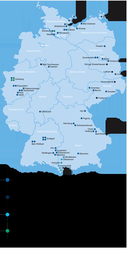Sana regiokaart
