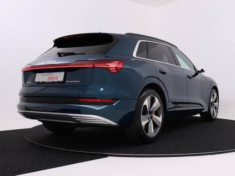 Audi e-tron 55 Quattro Incl. BTW | +/- €130 netto bijtelling| Camerabeeld spiegels | Adapt. Cruise | NAVI | Head-Up Display | 21 Inch | Matrix LED | 360 Camera | B&O | DAB | Keyless-Entry | Pano-Dak | afbeelding 5