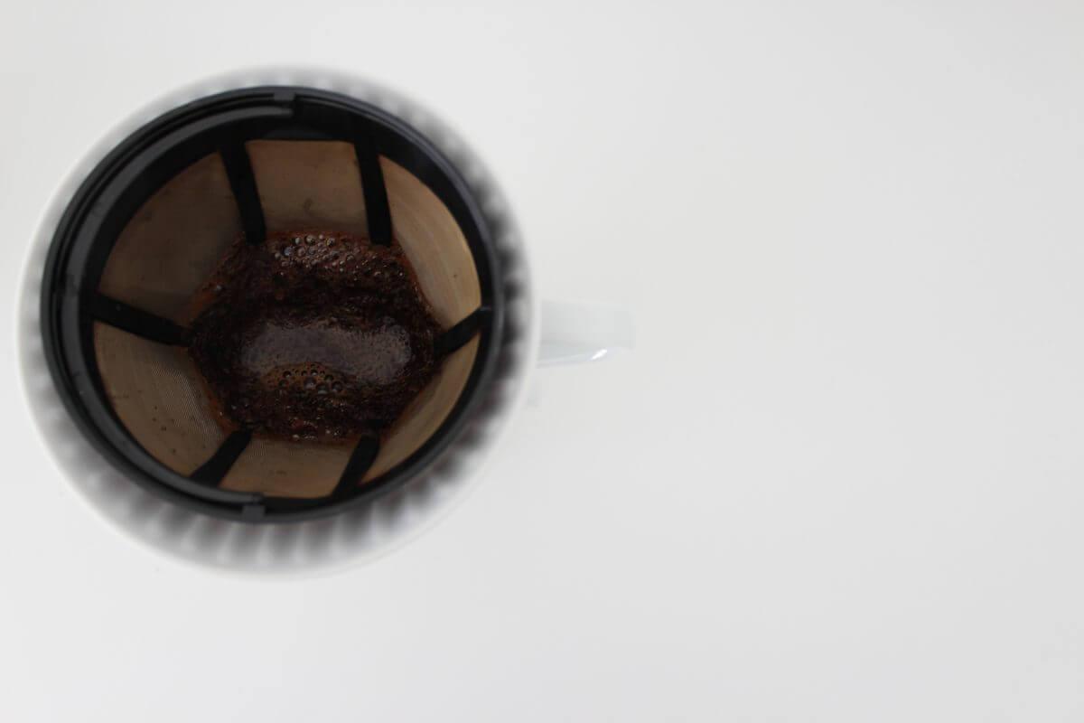 Kaffee im Filter