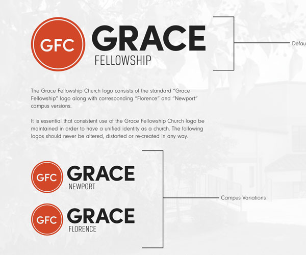 Grace Logo and Variations