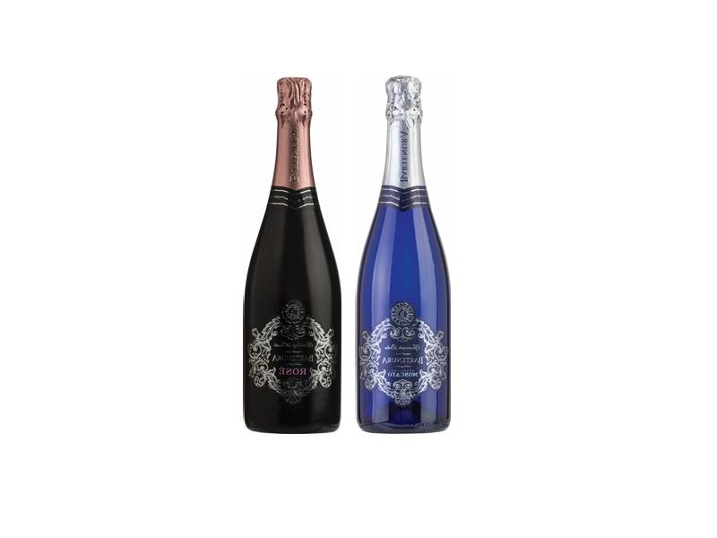 Bartenua Sparkling Champagne Moscato Rose/Moscato Blanc (750ml)