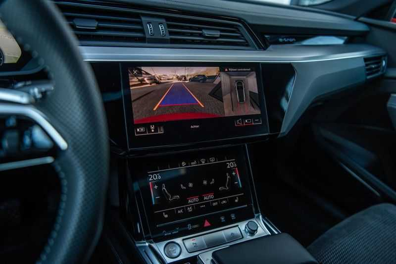 Audi e-tron 55 Quattro Advanced Exterieur, 408 PK, 4% bijtelling, Head/Up display, Pano/Dak, Night/Vision, S-line interieur, 15DKM afbeelding 9