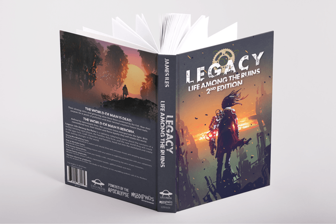 Legacy2e on Kickstarter