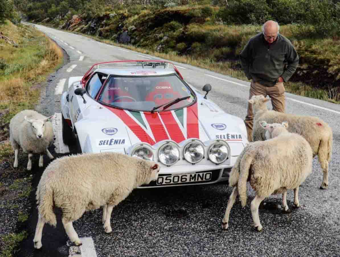 Where JJ and his Lancia go, animals seem to follow…