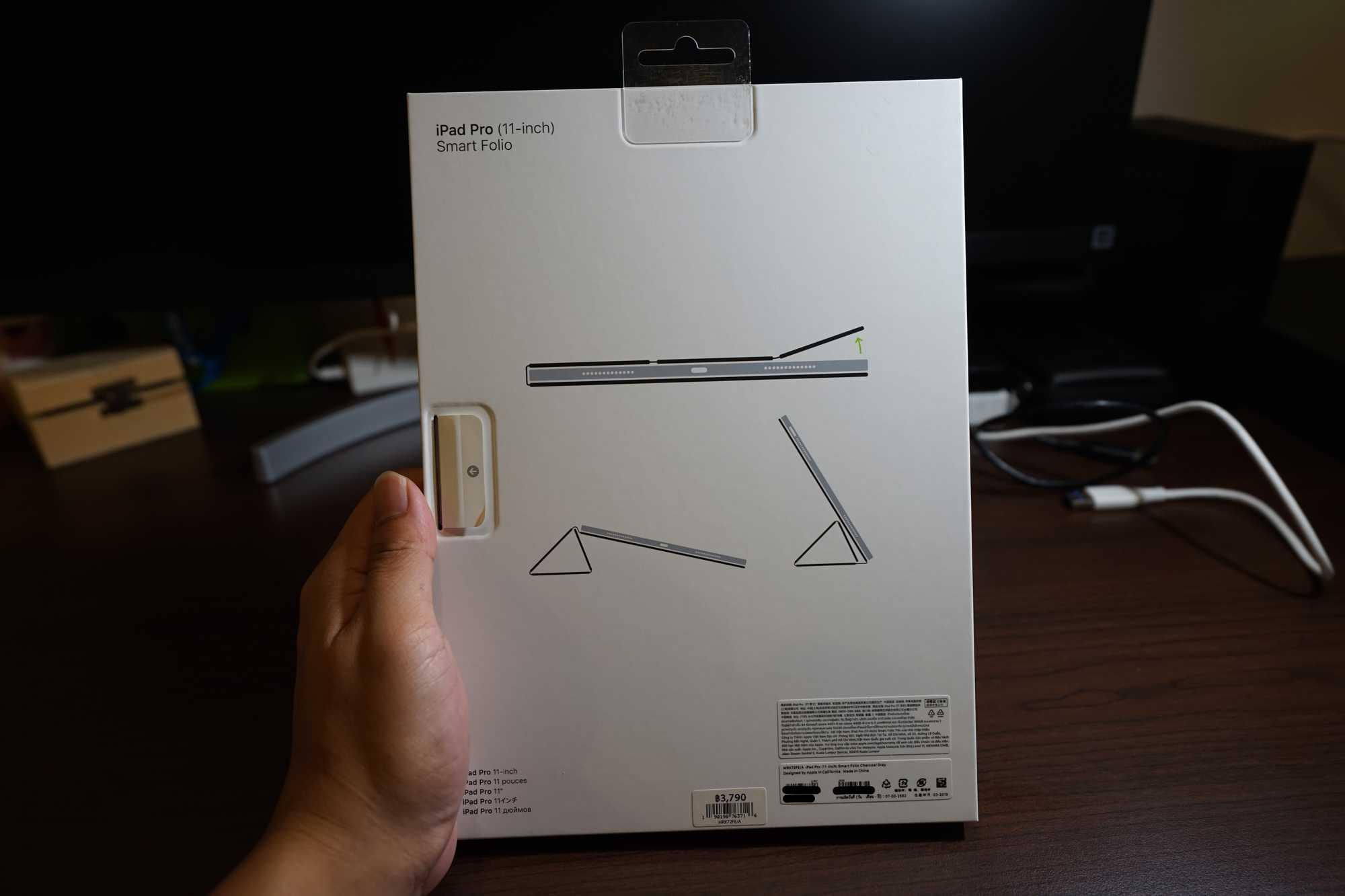 Apple Smart Folio Box Back