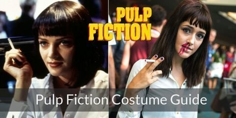 Dress like characters from Pulp Fiction for your Halloween or Costume Party