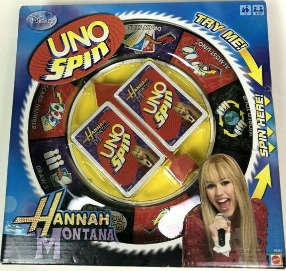 Uno Spin: Hannah Montana
