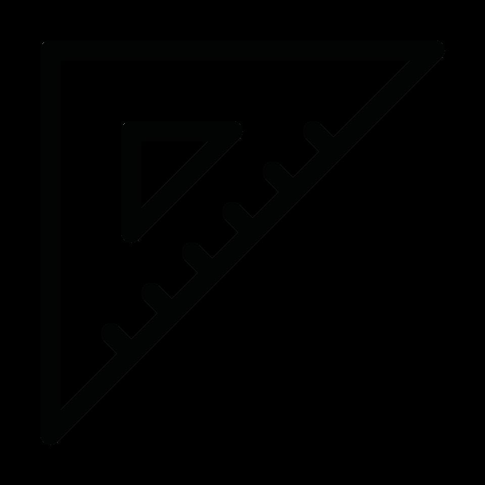 Graphic edit set square