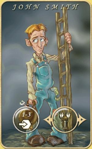 John Smith character card