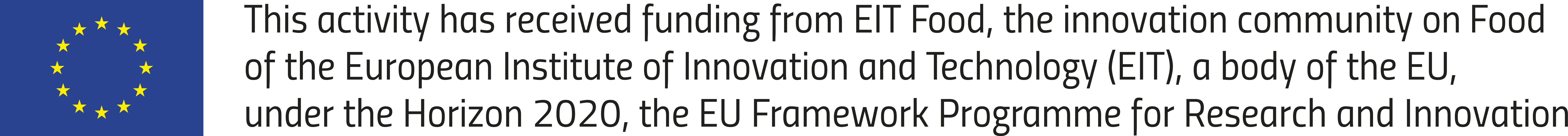 EIT Food is supported by EIT, a body of the European Union.