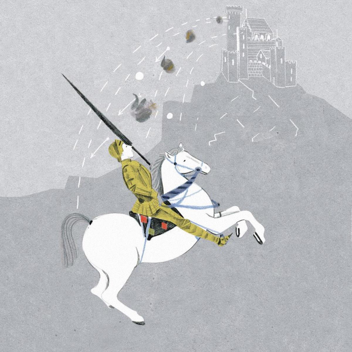 Иллюстрация Марианны Штымы из книги «Темное прошлое ночного горшка»