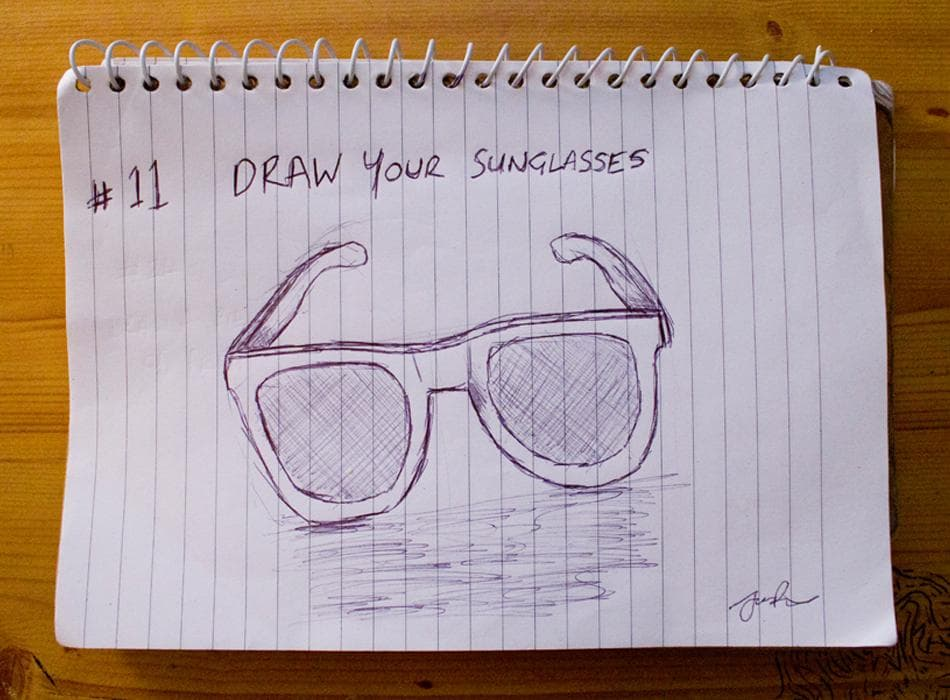 EDM #11 Draw your Glasses or Sunglasses