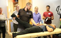 Brock Easter teaching Neurokinetic Therapy