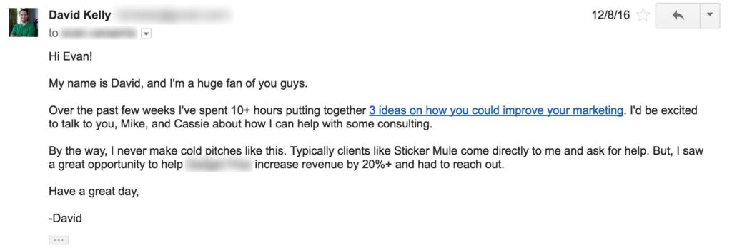 How to generate leads: Cold email style