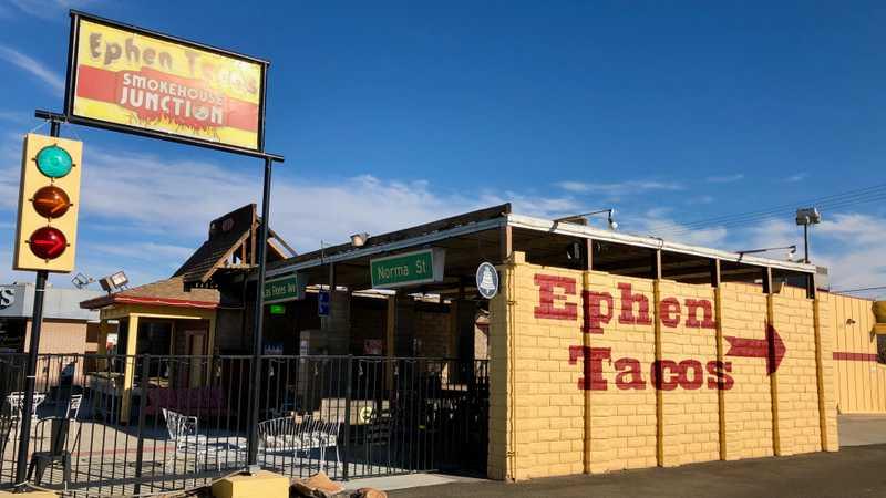 Ephen Tacos, Ridgecrest, California