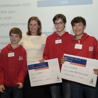 TechAssistants Soest overtuigende winnaar van het Beste Ondernemersidee van Soest