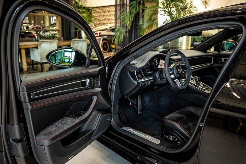 Porsche Panamera 4.0 GTS Sport Turismo | 360 | HUD | BOSE |PANO | Soft close | DAB | LED Matrix | Afstandstempomaat | Karmin Rood pakket, rood st afbeelding 6