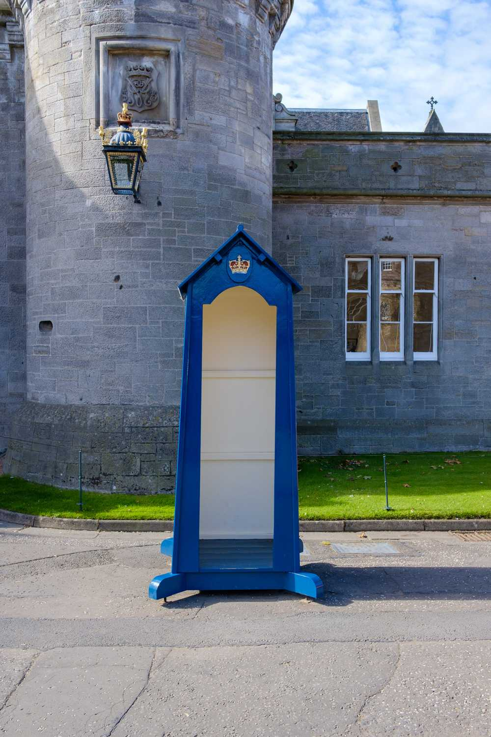 Guard booth, Palace of Holyroodhouse, Edinburgh