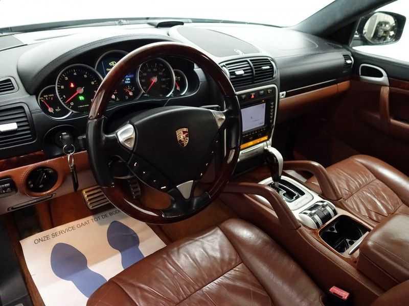 Porsche Cayenne 4.8 Turbo 500pk Autom, Schuifdak, Leer, Bose, Xenon, Memory, Full! afbeelding 22