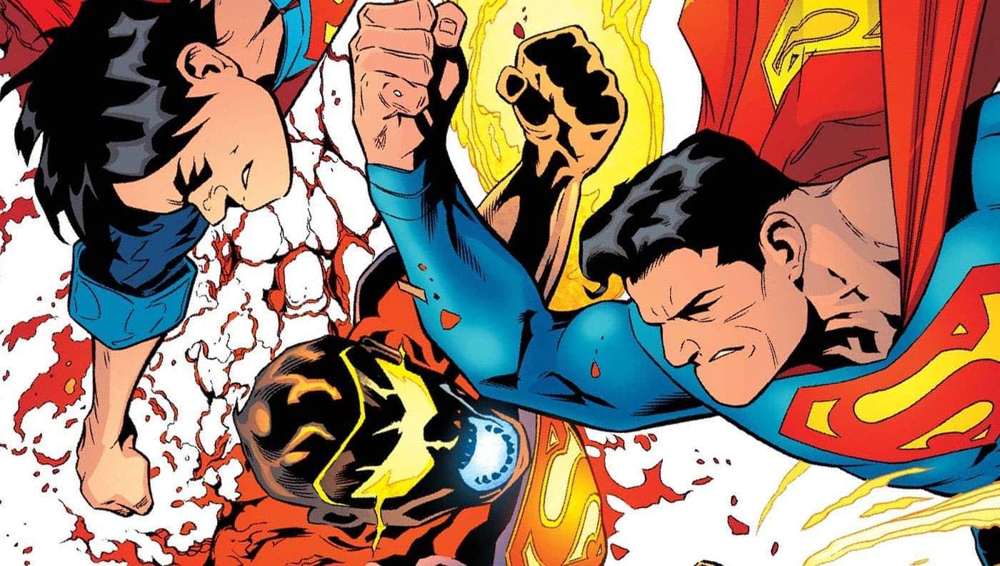 Capa de uma das edições do Superman de Peter Tomasi