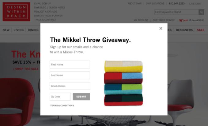 Mikkal throw giveaway