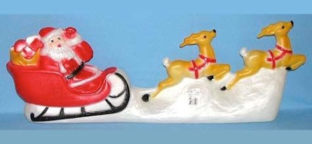 Santa Sled Set photo