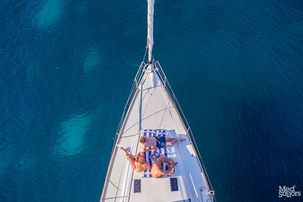 Explore the Ionian Islands as you go sailing in Greece