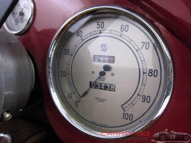 Jaguar SS100 3.5 Roadster / Heritage Trust Certificate / RHD afbeelding 10