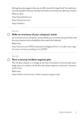 ICO Security Checklist page 2