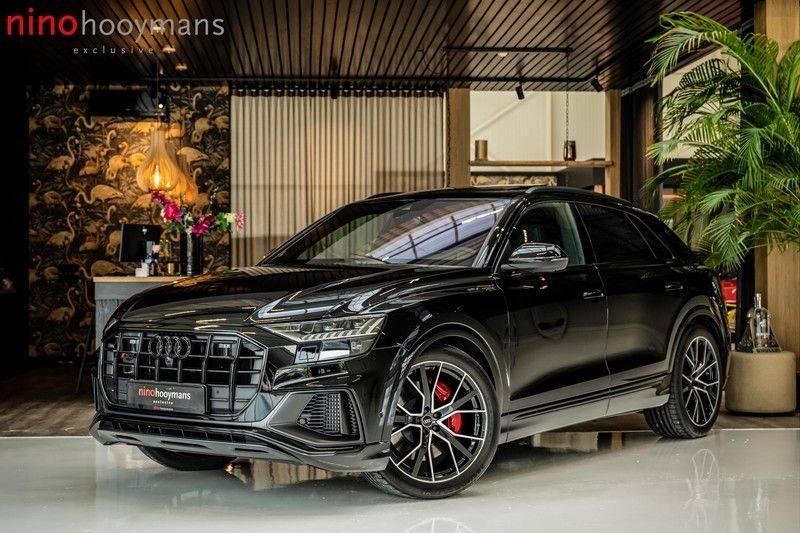 Audi SQ8 4.0 TFSI quattro | Bang & Olufsen | HUD | Leder valcona met ruit | Stoel massage | Alcantara | Nachtzicht | PANO | afbeelding 1