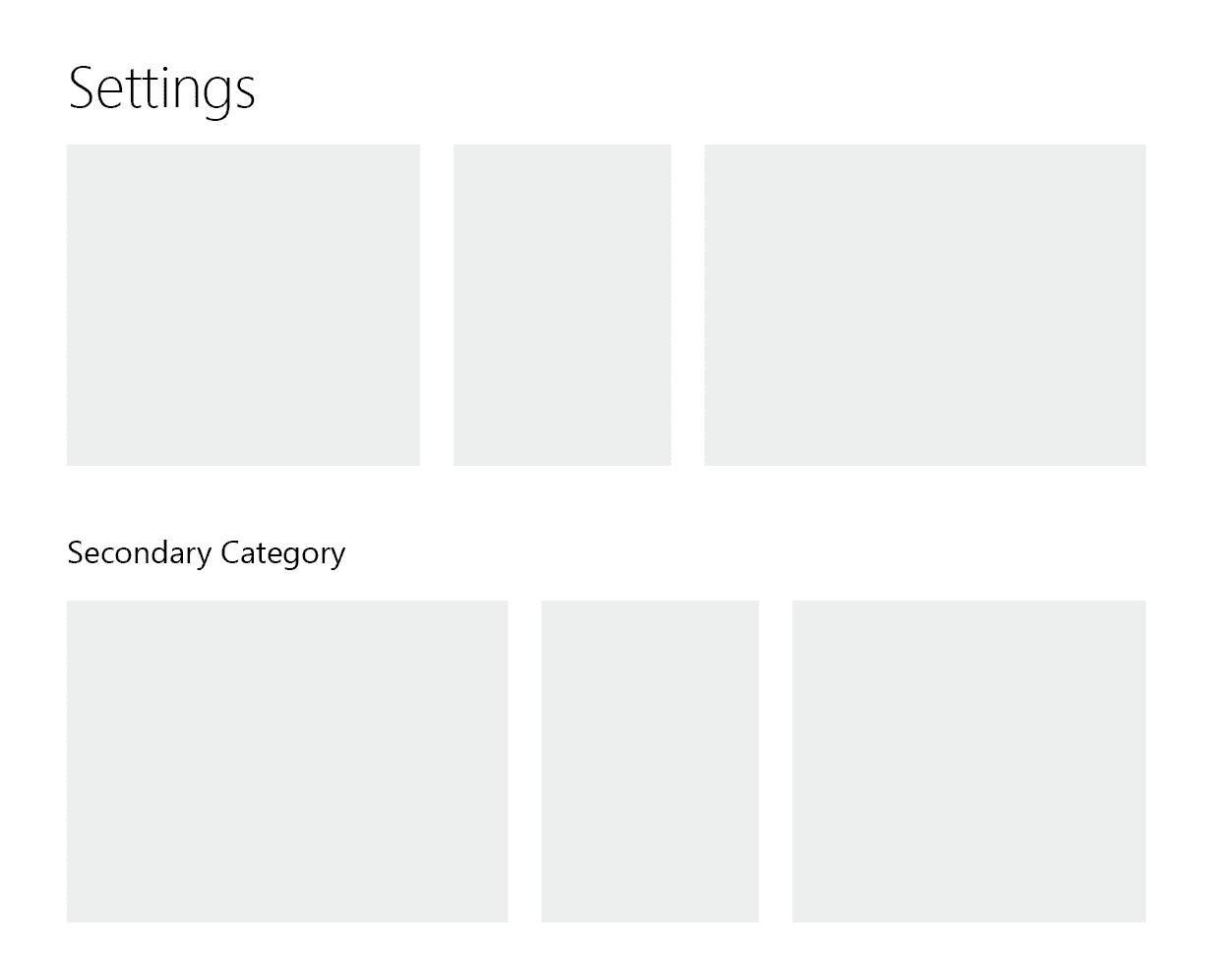 Category Mockup