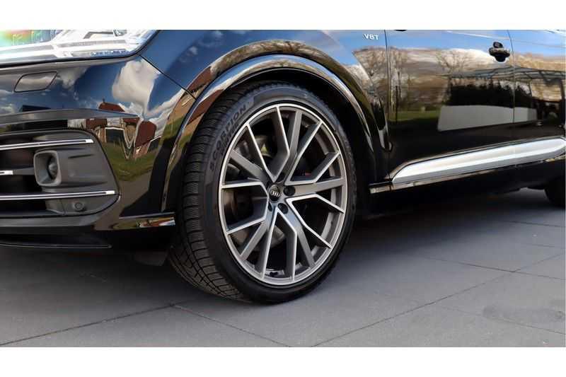 Audi Q7 4.0 TDI SQ7 quattro Pro Line + BOSE, Ruitstiksel, Carbon, Trekhaak afbeelding 5